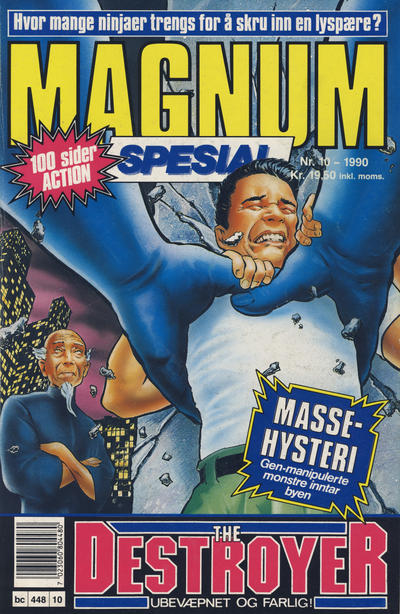 Cover for Magnum Spesial (Bladkompaniet, 1988 series) #10/1990