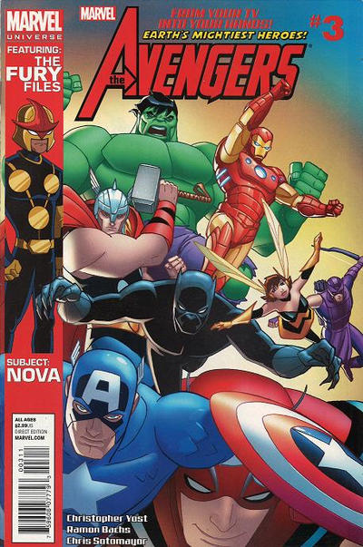 Cover for Marvel Universe Avengers Earth's Mightiest Heroes (Marvel, 2012 series) #3