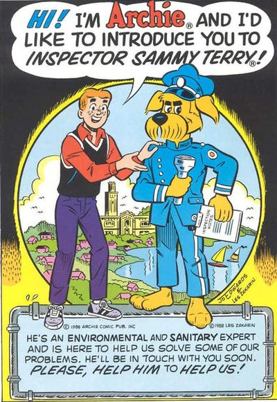 Cover for Archie and Inspector Sammy Terry (Archie, 1988 series) #[nn]