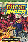 Cover Thumbnail for Ghost Rider (1973 series) #9 [British Price Variant]