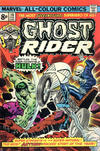 Cover Thumbnail for Ghost Rider (1973 series) #10 [British price variant.]