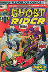 Cover Thumbnail for Ghost Rider (1973 series) #13 [British price variant.]