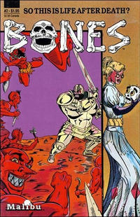 Cover Thumbnail for Bones (Malibu, 1987 series) #2