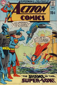 Cover Thumbnail for Action Comics (DC, 1938 series) #392