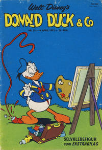 Cover Thumbnail for Donald Duck & Co (Hjemmet, 1948 series) #15/1972