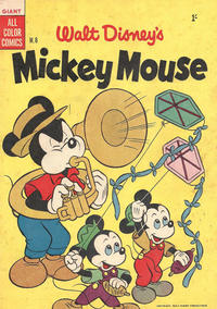 Cover Thumbnail for Walt Disney's Mickey Mouse (W. G. Publications; Wogan Publications, 1956 series) #6