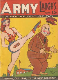 Cover Thumbnail for Army Laughs (Prize, 1941 series) #v1#7