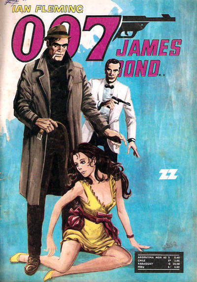 Cover for 007 James Bond (Zig-Zag, 1968 series) #48