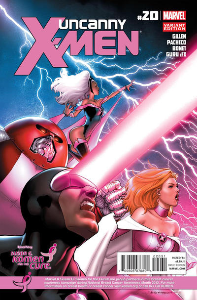 Cover for Uncanny X-Men (Marvel, 2012 series) #20