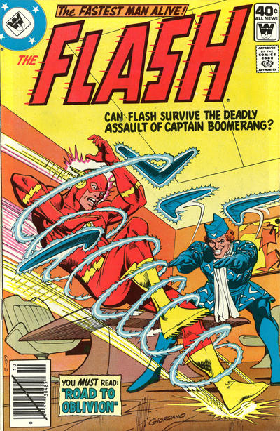 Cover for The Flash (DC, 1959 series) #278 [Whitman Variant]