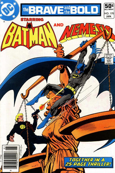 Cover for The Brave and the Bold (DC, 1955 series) #170