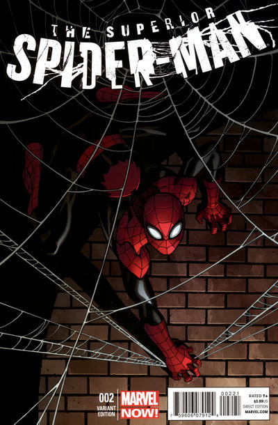 Cover for Superior Spider-Man (Marvel, 2013 series) #2