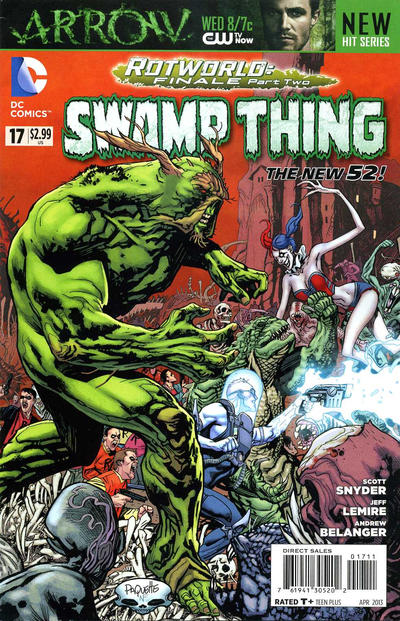 Cover for Swamp Thing (2011 series) #17