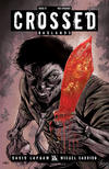 Cover Thumbnail for Crossed Badlands (2012 series) #21 [Red Crossed Variant Cover by Miguel A. Luiz]