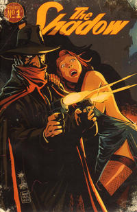 Cover for The Shadow (2012 series) #1 [Cover D - Jae Lee]