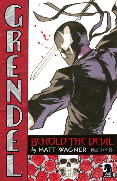 Cover for Grendel: Behold the Devil (Dark Horse, 2007 series) #1