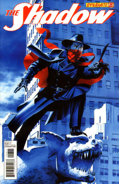 Cover for The Shadow (Dynamite Entertainment, 2012 series) #8 [Cover A - Alex Ross]