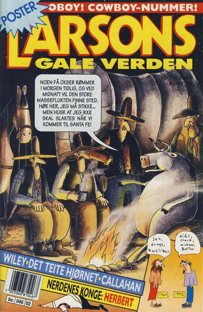 Cover for Larsons gale verden (1992 series) #2/1995