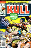 Cover for Kull the Destroyer (Marvel, 1973 series) #18 [British price variant]