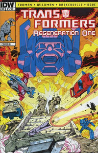 Cover for Transformers: Regeneration One (IDW, 2012 series) #88 [Cover B - Guido Guidi]