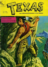 Cover Thumbnail for Texas (Centerförlaget, 1958 series) #2/1958