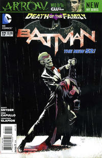 Cover Thumbnail for Batman (DC, 2011 series) #17
