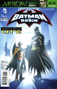 Cover Thumbnail for Batman and Robin (DC, 2011 series) #17