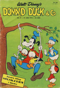 Cover Thumbnail for Donald Duck & Co (Hjemmet, 1948 series) #27/1972