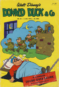 Cover Thumbnail for Donald Duck & Co (Hjemmet, 1948 series) #28/1972