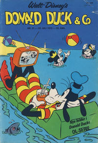 Cover Thumbnail for Donald Duck & Co (Hjemmet, 1948 series) #31/1972