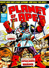 Cover Thumbnail for Planet of the Apes (Marvel UK, 1974 series) #48