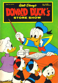 Cover Thumbnail for Donald Duck's Show (Hjemmet, 1957 series) #[store 1970]