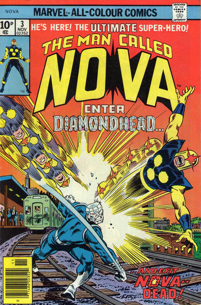 Cover for Nova (1976 series) #3