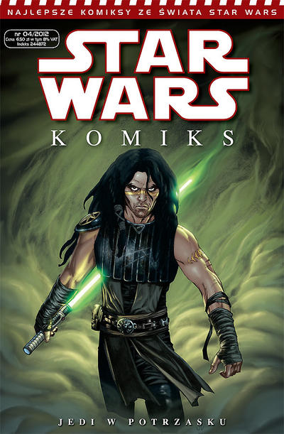 Cover for Star Wars Komiks (2008 series) #4/2012