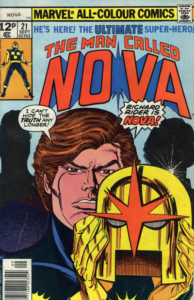 Cover for Nova (Marvel, 1976 series) #21