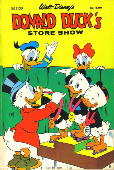 Cover for Donald Duck's Show (1957 series) #[store 1969]
