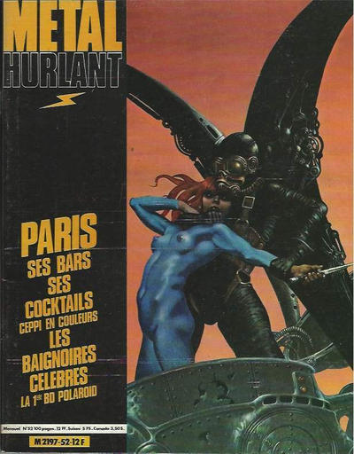 Cover for Métal Hurlant (1975 series) #52