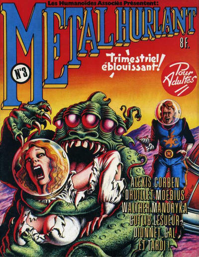 Cover for Métal Hurlant (1975 series) #3
