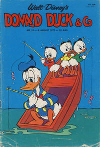 Cover Thumbnail for Donald Duck & Co (Hjemmet, 1948 series) #33/1972