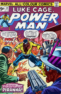 Cover Thumbnail for Power Man (Marvel, 1974 series) #30 [British price variant.]