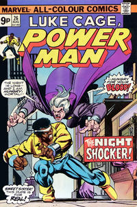 Cover Thumbnail for Power Man (Marvel, 1974 series) #26 [British price variant.]