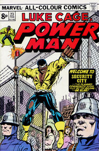 Cover Thumbnail for Power Man (Marvel, 1974 series) #23 [British price variant.]