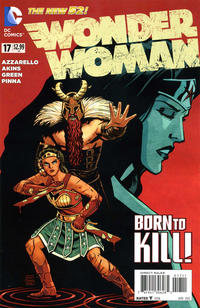 Cover Thumbnail for Wonder Woman (DC, 2011 series) #17