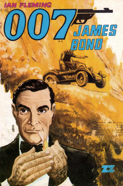 Cover for 007 James Bond (Zig-Zag, 1968 series) #33