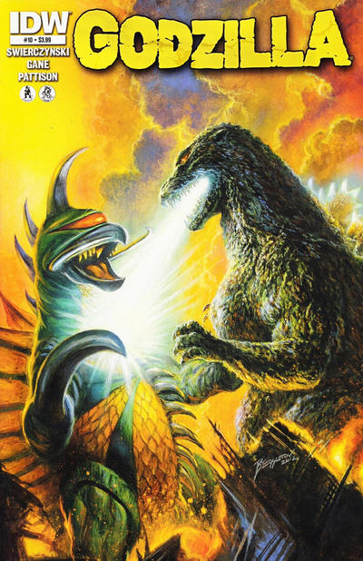 Cover for Godzilla (2012 series) #10 [Retailer incentive]