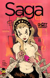 Cover Thumbnail for Saga (2012 series) #7 [Ghost Variant by Paul Pope]