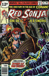 Cover for Red Sonja (Marvel, 1977 series) #14 [British price variant.]