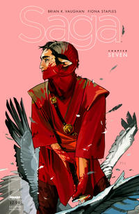 Cover Thumbnail for Saga (Image, 2012 series) #7 [2nd Printing Cover by Fiona Staples]