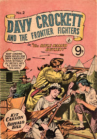 Cover Thumbnail for Davy Crockett and the Frontier Fighters (K. G. Murray, 1955 series) #2