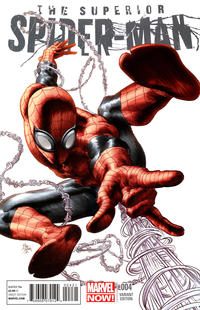 Cover for Superior Spider-Man (Marvel, 2013 series) #4
